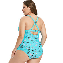 Plus Size Women's Beach Wear Swim Set