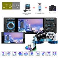 LTBFM Car Radio 1din jsd 3001 4.1 Mp5 Car Player Touch Screen Car Stereo 1Din Car Audio Auto Radio Bluetooth Camera Mirror Link