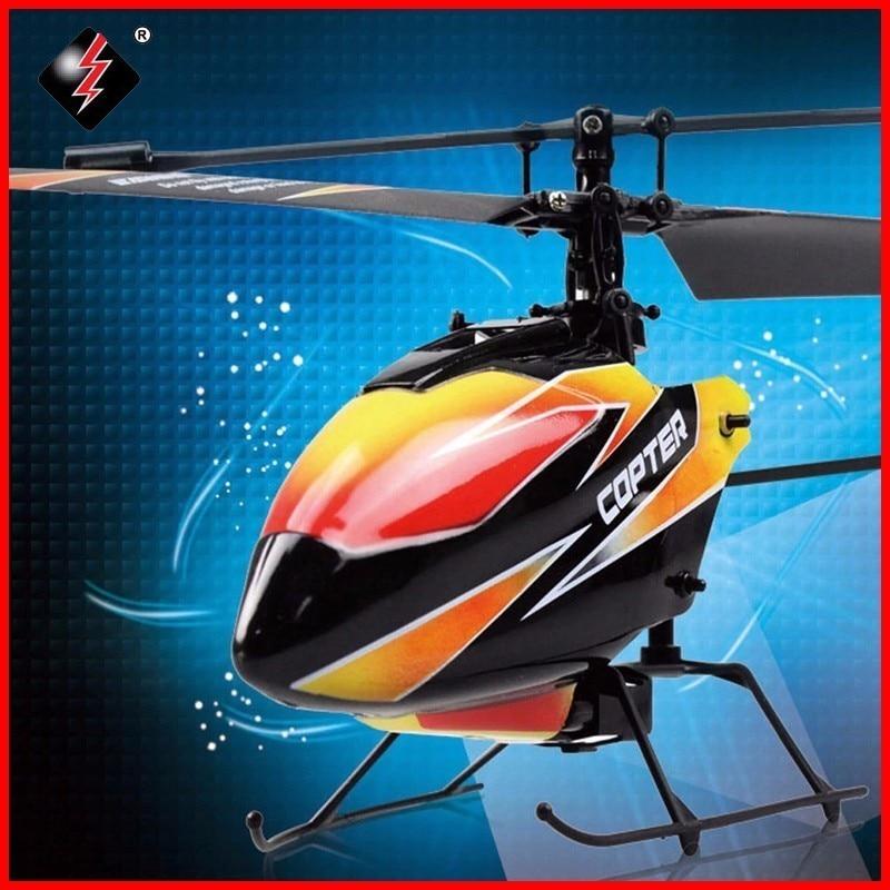 Original WLtoys V911 hélicoptère rc 2.4G 4CH drône jouet télécommande Drones jouet volant Helicoptero Avions Enfant Drone Dron Cadeaux