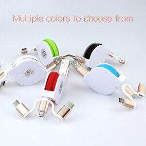3 in 1 Micro USB Type C USB Ca