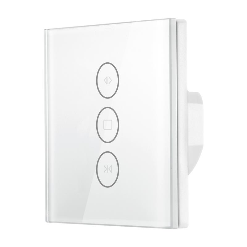 Wi Fi Google Home For Smart Home Curtain Switch Uk/EU Glass Panel Smart Mobile Control Via Tuya App Work With Amazon Alexa