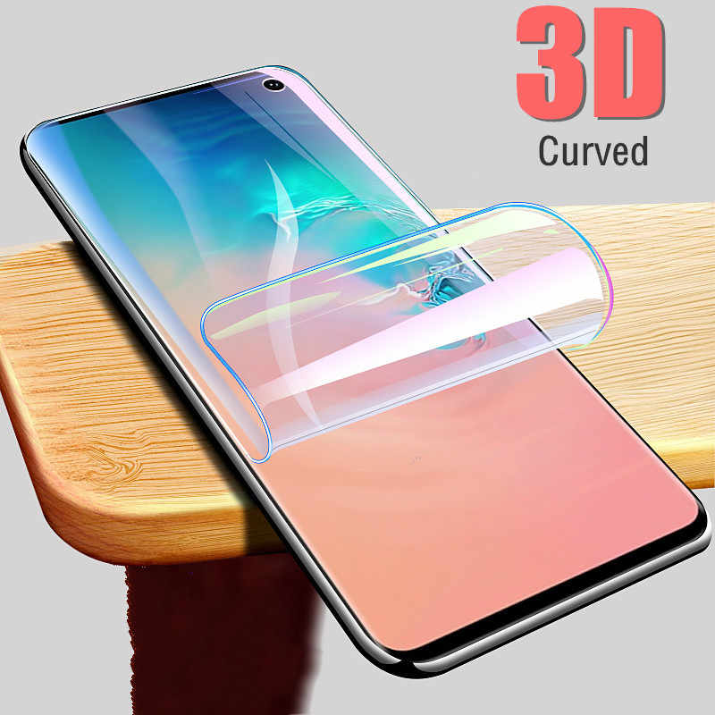 3D Curved Screen Protector Film For Samsung Galaxy S10 Plus S9 S8 Plus Note 8 9 TPU Soft Protective Film Cover For Sumsung S10 +
