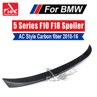 AC Style Carbon Fiber Rear Trunk Spoiler Wing Car Styling For BMW F10 F18 M5 5 Series 520i 525i 528i 530i 535i 535d 550i 2010 16