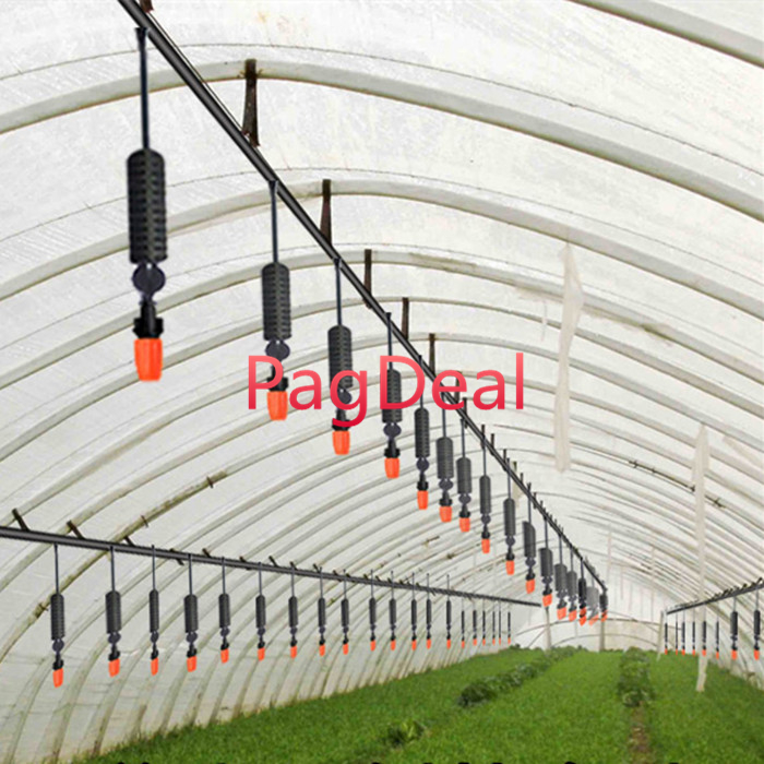 20M Strengthen 16PE Hose DIY Auto Dripping Irrigation System Watering Irrigation Hanging Anti drip Weight Sprinkler