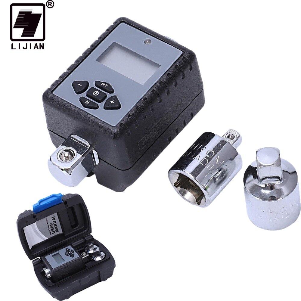 Lijian 1/2 1/4 chave de torque chave de torque digital universal 3/8
