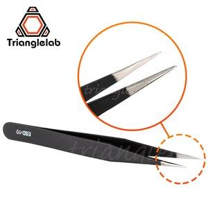 Image 3 - Trianglelab Gebogene/Gerade Port 3D Drucker Werkzeuge Edelstahl Pinzette Düse filament reinigung pinzette