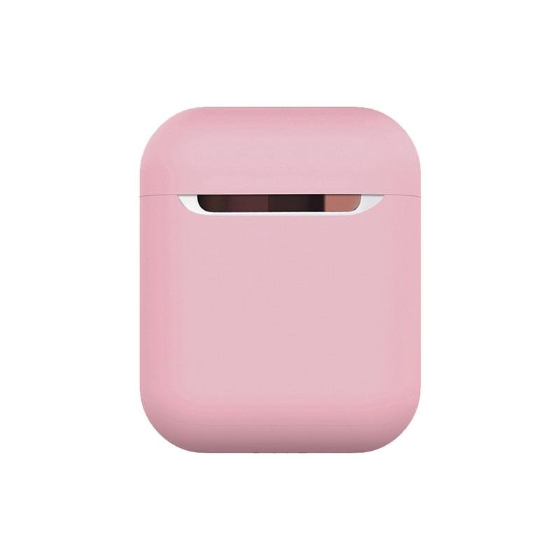 Image 2 - Silicone Headset Protective Cover Wireless Bluetooth Earphone Shockproof Scratchproof Storage Box Washable Case For Apple AirPod-in Earphone Accessories from Consumer Electronics
