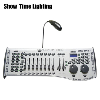 SHOW TIME hot sales 240A DMX Controller 240A Console Stage Lighting DJ Equipment DMX 512 Control LED Par Moving Head Spotlights usb to dmx interface adapter dmx512 studio computer pc stage lighting controller dimmer control satge effect led lighting