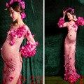 Фотография Одежда фотография аксессуар для портретной съемки будет живот искусство фото цветок девушка-фея полное платье для беременных д...