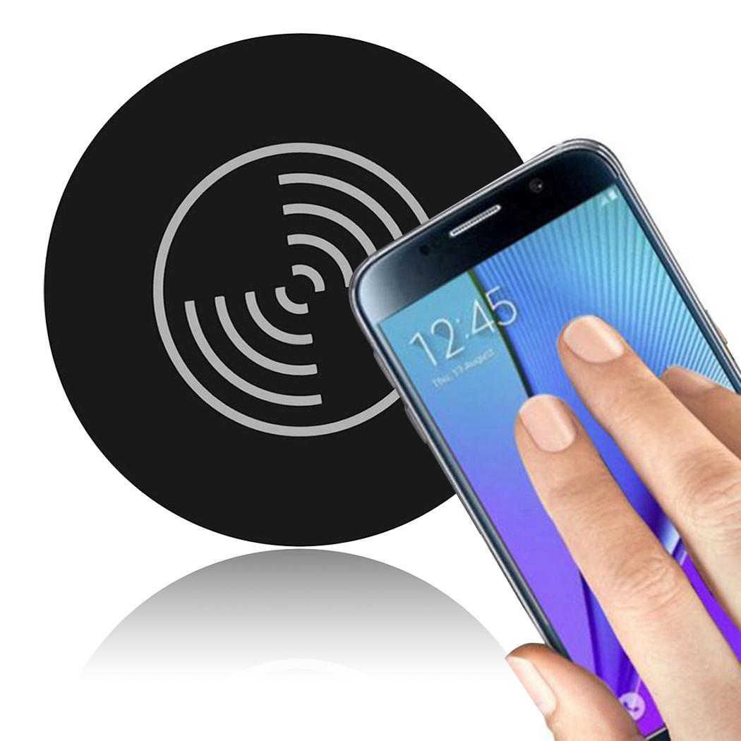 Portable Consumer Electronics Digital Accessory Round 5W Wireless Charger Home, Office, Travel Charging Device