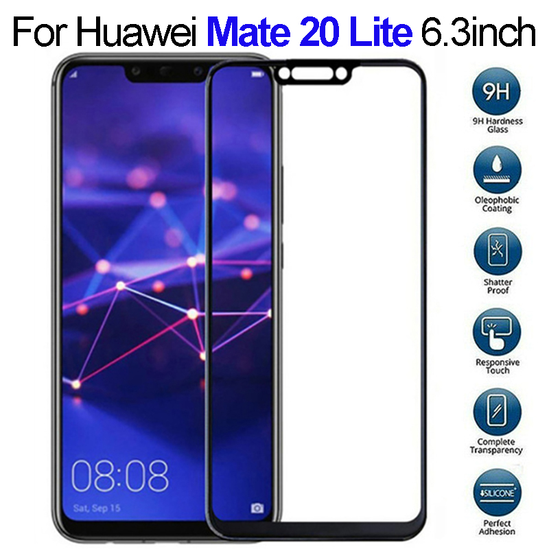 1/2 Pcs Protective Glass On For Huawei Mate 20 Lite Light Lait Screen Protector Tempered Glass On Huawey Hawai Mate20 Life Glass