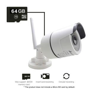 Image 4 - IP Kamera Wifi Zwei weg Audio 720 P 960 P 1080 P Cctv Drahtlose Sicherheit Im Freien Wasserdichte 2mp Mini HD Überwachung Infrarot Lautsprecher