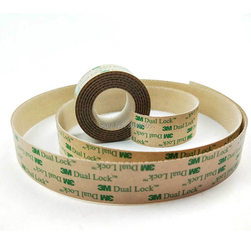 3M adhesive transparent tape SJ4570 low profile acrylic adhesive indoor outdoor clear fastener dual lock wholesale