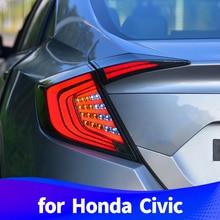 Задняя фара для Honda Civic светодиодный дальнего света светодиодный стоп-сигнал поворота
