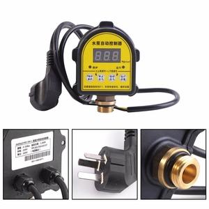 Image 4 - Digital Automatic Air Pump Water Oil Compressor Pressure Switch Controller for Water Pump 220V 10A Functional 0 10 Bar