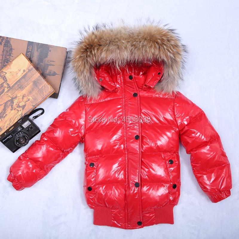 12m-8y Kinderen Donsjack Sneeuw Wear Jacket Voor Meisjes Baby Baby Boy Bovenkleding Babys Jassen Hooded Kids Winter Jassen Een Effect Produceren Voor Een Heldere Visie