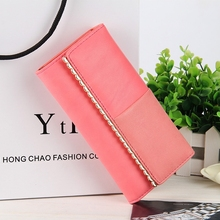 Fashion Simple Womens Wallet Large Capacity Multi-Card Ladies Long Wallets