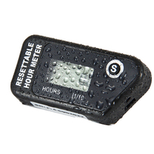 Digital Hour Meter Tachometer For Outboard Motor Lawn Mower Motocross Motorcycle Marine Chainsaw Pit