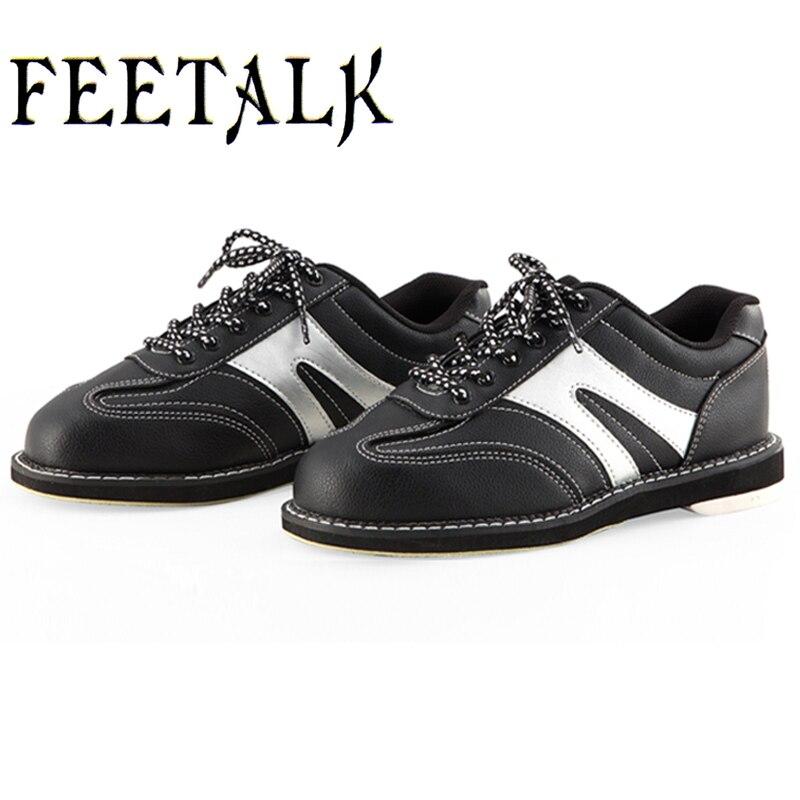 Boliche Zapatos De Bolos Souliers De Quilles Feetalk Bowling Schuhe Männer Skidproof Sohle Professionelle Sport Slip Turnschuhe 009