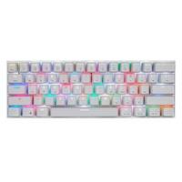 MOTOSPEED Ck62 Mechanical Keyboard Bluetooth Wireless Dual Mode With Rgb Backlight Keyboard 61 Keys Gaming Keyboard For Lol Pu