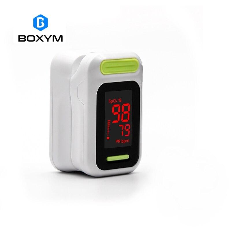 2019 Mode Boxym Medizinische Digitale Led Finger-pulsoximeter Blut Sauerstoff Sättigung Monitor De Pulso Oximetro Gesundheit Pflege