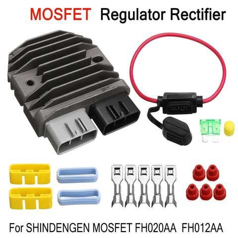 regulador de tensao para motocicleta regulador de tensao para motocicleta reposicao para shindengen mosfet fh012aa