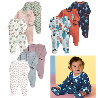 2018 New Fashion Newborn Toddler Infant Baby Boys Romper Long Sleeve Jumpsuit Playsuit Little Girl Outfits Clothes Unsex 3 12m