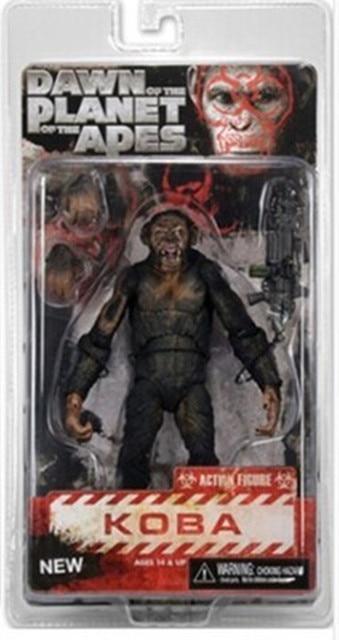 """Planet Of The Apes Fazer Dois Dawn Of War Neca Figura Com O Brinquedo Caixa 7 """"18 Cm"""