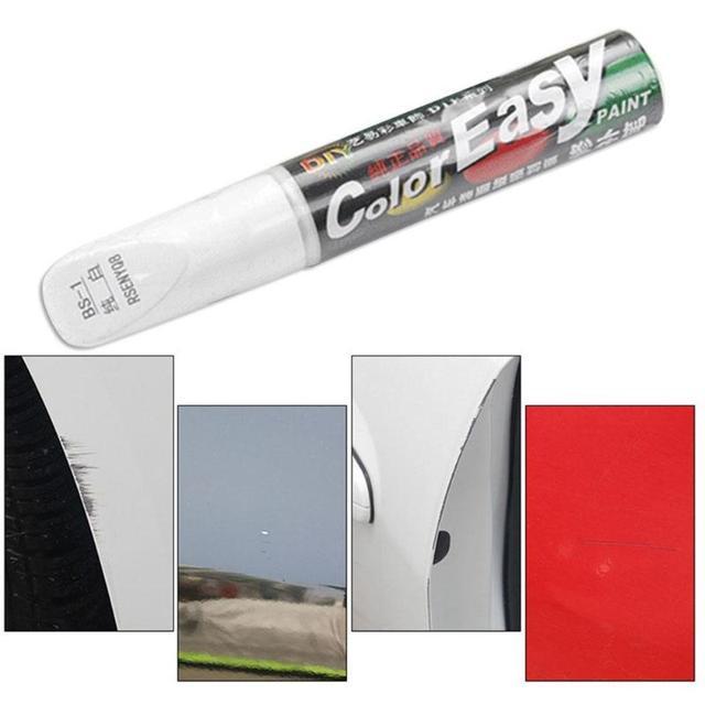 Stylo de réparation de rayure de voiture de 4 couleurs fixez-le Pro entretien de peinture outils d'entretien de voiture 3