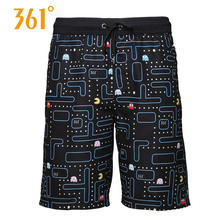 361 Men Board Shorts Swimming Surfing Beach Sports Pants Quick Dry Male Trunks Boxer Swim Mens Swimwear