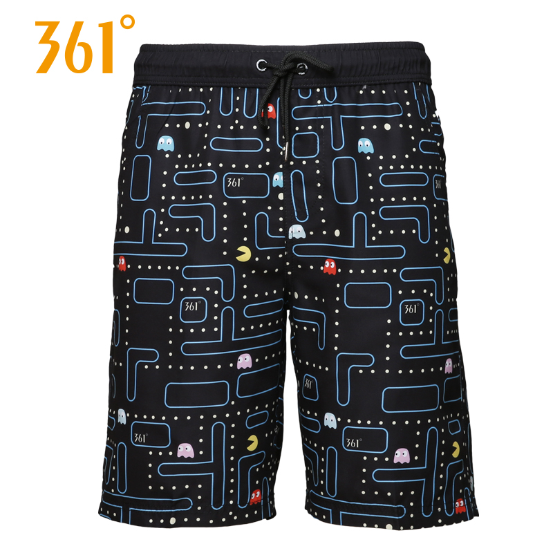 361 Men Board Shorts Men Swimming Surfing Beach Sports Pants Quick Dry Male Swimming Trunks Boxer Male Swim Shorts Mens Swimwear