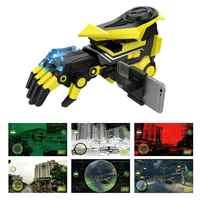 Sarı Plastik Su Bomba oyuncak silah AR Akıllı Elektrikli Şarj Edilebilir Mermi Oyuncak Tabanca Değiştirilebilir Mekanik Kol Desen Tabanca Oyuncaklar Aracı