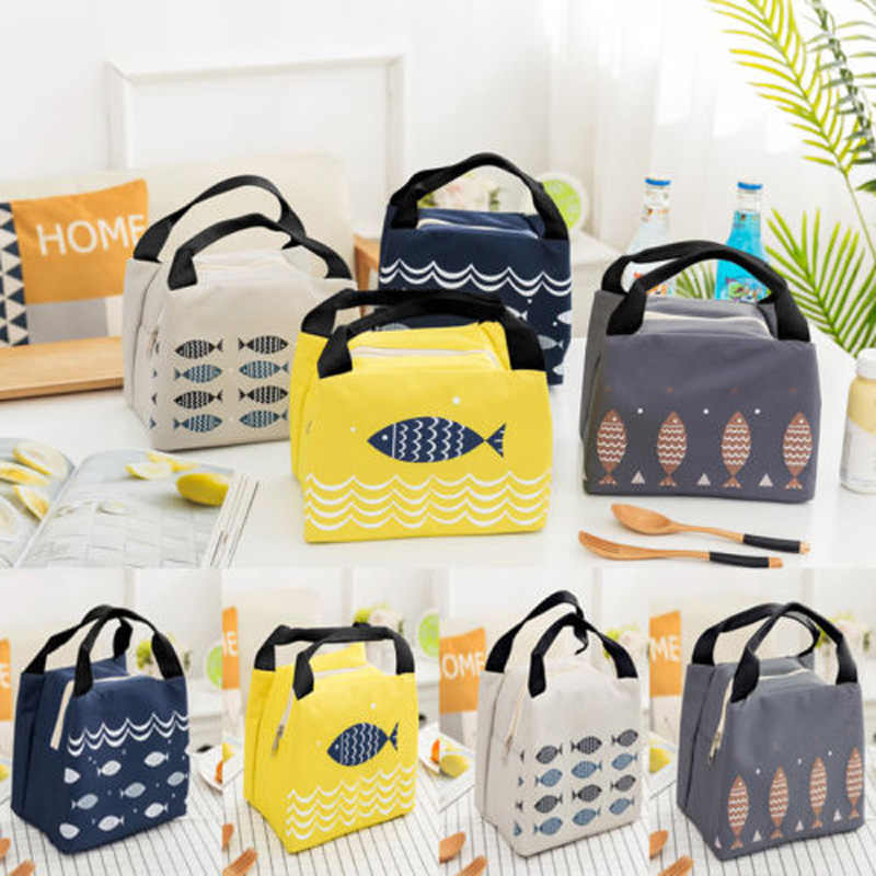 Brand New Brand Insulated Durable Carry Cooler Outdoor Picnic Tote Lunch Bags Lunch Box Storage Lunch Box