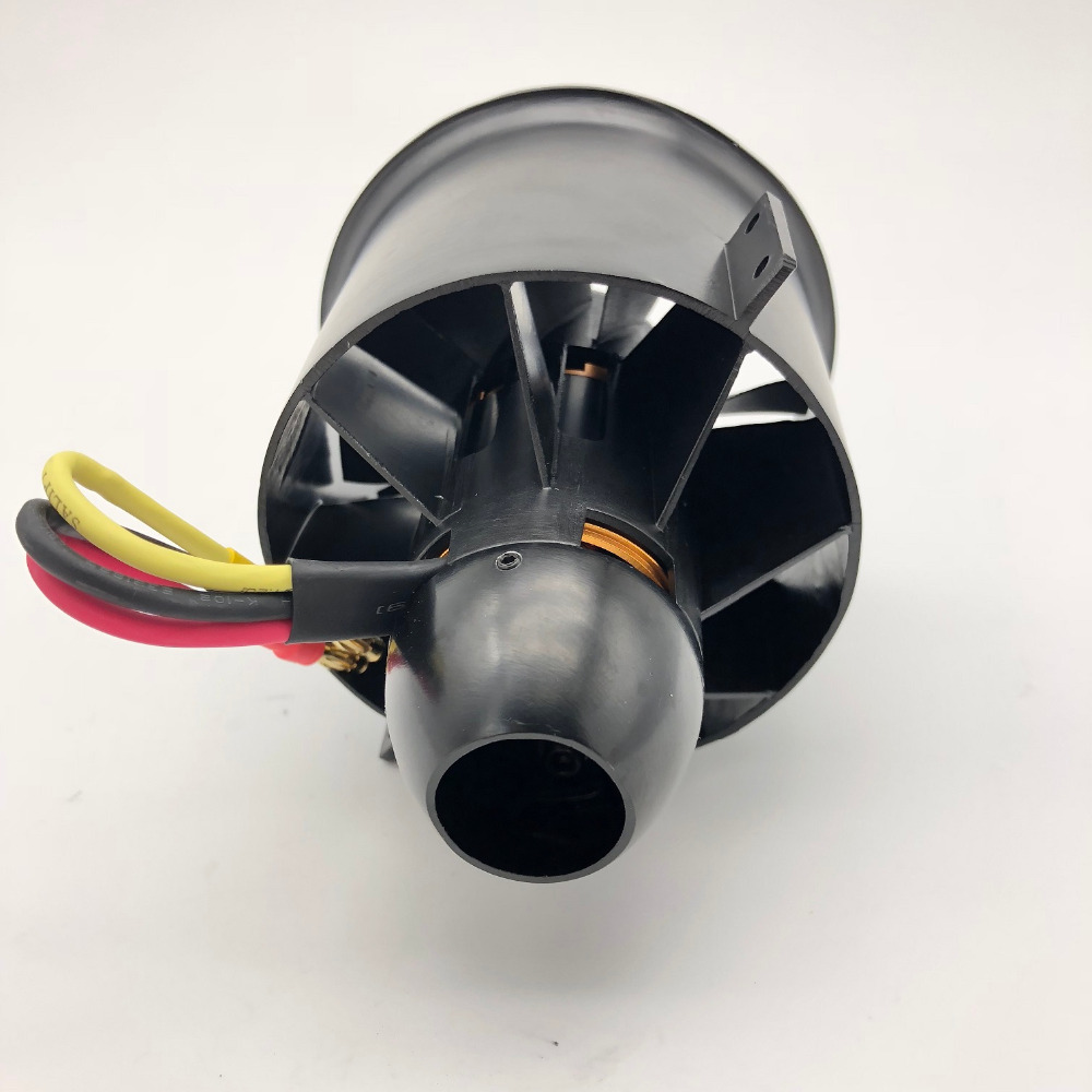 Freewing new 12 blades 80mm metal EDF with outrunner motor 3530 1680KV or 3530 1850KV 6S