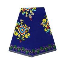 6 yard /lot Manufacturers Direct Sale of Batik Printed Cloth for African National Garments  african wax fabric ankara