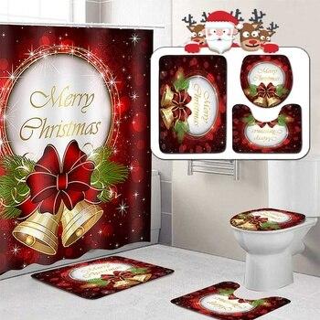 Merry Christmas Bathroom Set 2