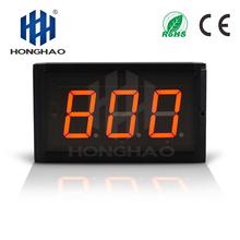 Fedex darmowa wysyłka alibaba ekspresowe 3 cal 3 cyfry czerwony kryty cyfrowy wyścig zegary dzień zegar odliczający tanie tanio DIGITAL Zegary ścienne Metal Luminova JI3D-3R 2000g Plac 160mm 265mm
