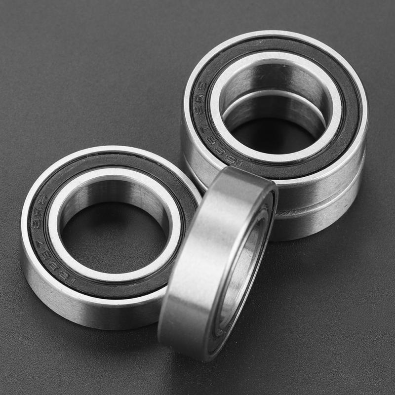 4Pcs 15267-2RS Ball Bearings Double Shielded Miniature Deep Groove Ball Bearings 15x26x7 mm