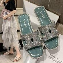 Summer Luxury Brand Designer Slides Womens Cute Slippers Pantuflas Sliders Flat Shoes Female Pantuflas De Mujer Woman Mules