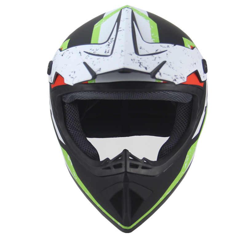 סופר אור קסדת אופנוע מירוץ אופניים קסדת קריקטורה ילדי טרקטורונים עפר אופני Downhill MTB DH צלב קסדת capacetes