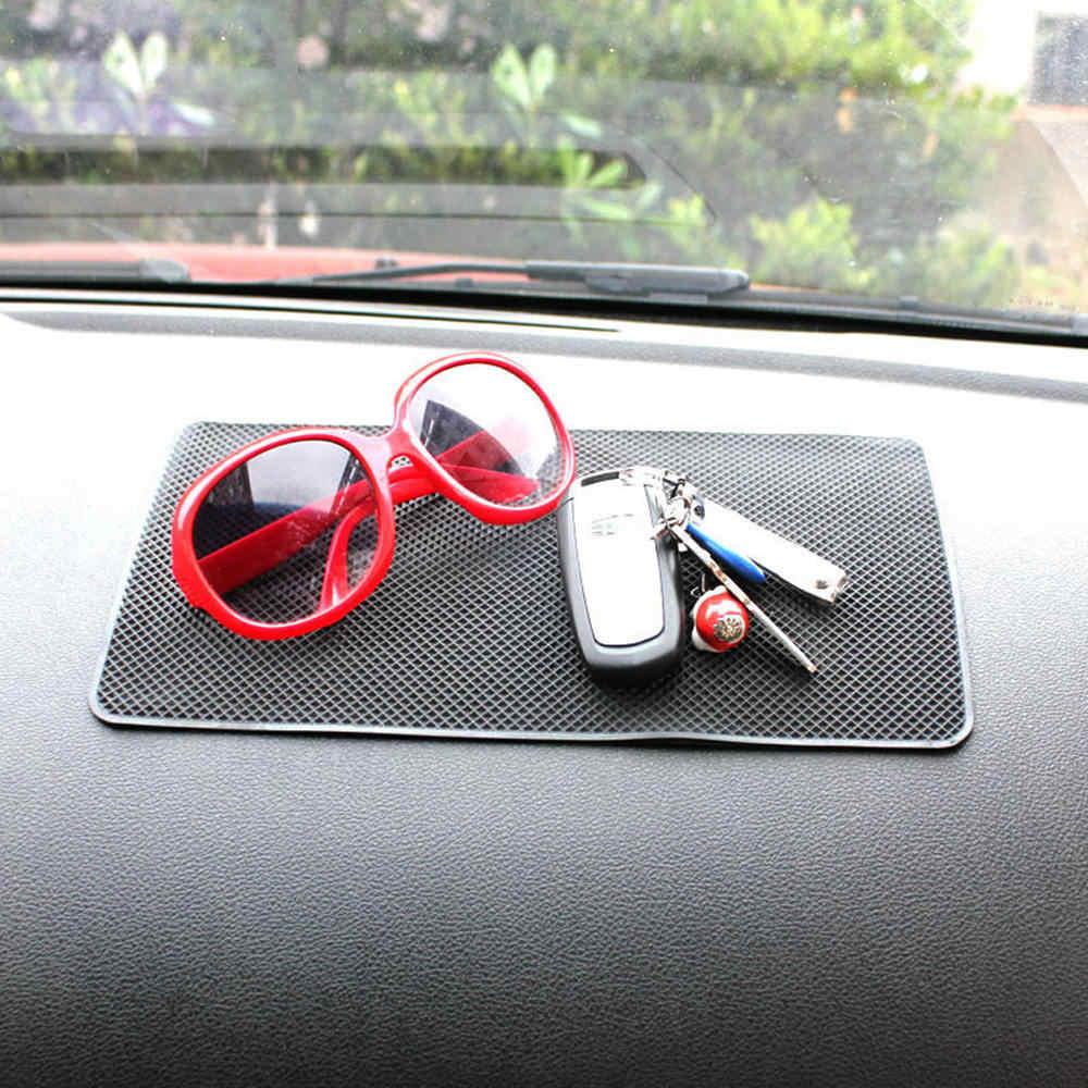 Extra Large 27 x 15cm Magic Anti-Slip Non-Slip Mat Car Dashboard Silicone Sticky Pad Mat Black