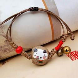 Мультфильм регулируемый сплав для мужчин Kint женщин браслет Горячие животных подарки Керамика ручной работы Прямая доставка высокое Кач