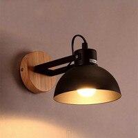 LED Wall Light iron Industrial Modern Nordic Energy Saving Wall Lamps Corridor Bed Bedside bathroom Night Lights Home Decor