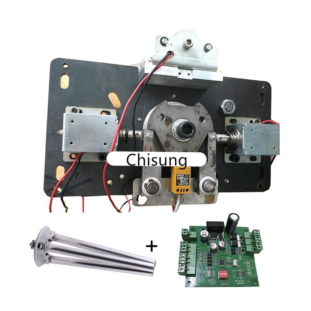 Semi Automatic Tripod Turnstile Mechanism Drop Arm Function DC24V Security Tripod Turnstile Gate Bidirectional Mechanism
