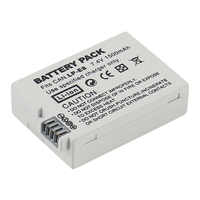 Battery Pack LP-E8 Bateria LP-E8 Lp E8 For Canon 550D 600D 650D 700D X4 X5 X6i X7i T2i T3i T4i T5i DSLR Camera 0.11