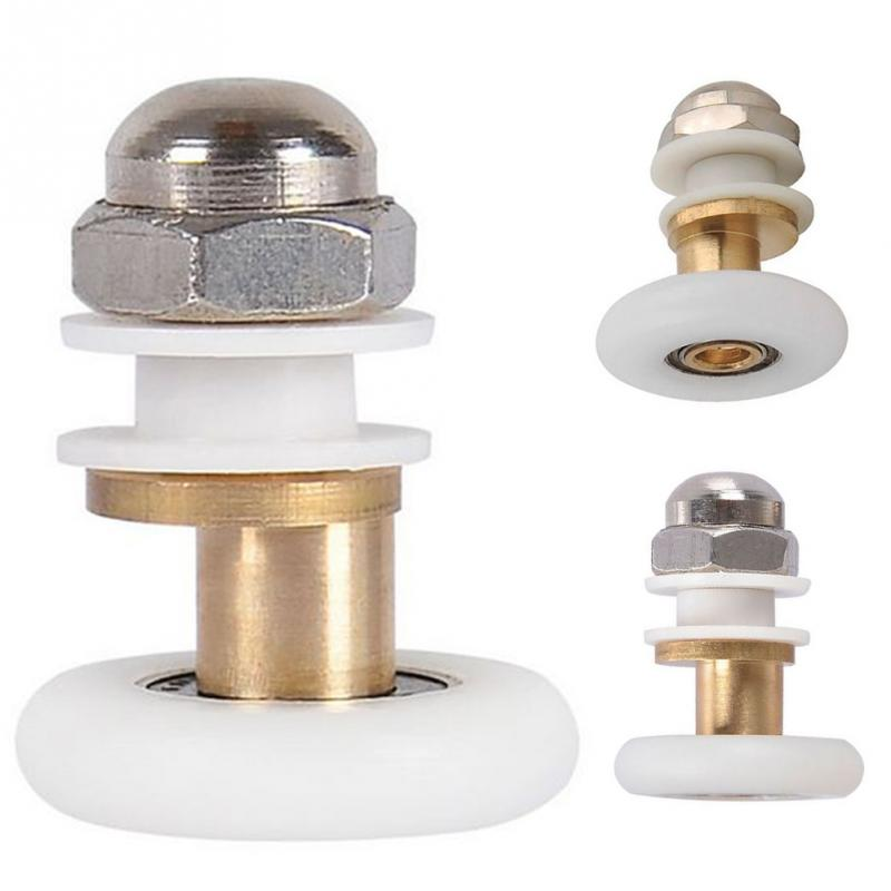1pc Roller Durable Shower Rooms Cabins Pulley Shower Room Roller /Runners/Wheels/Pulleys Diameter 25MM/27MM