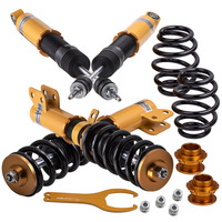 Complete Coilovers Suspension for Toyota Yaris Coil Springs Shocks Kit 2013 2017