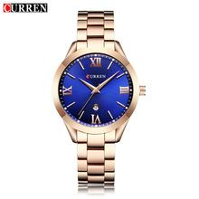 Jewelry Gifts For Women's Luxury Gold Steel Quartz Watch Curren Brand Women Watches Fashion Ladies Clock relogio feminino 9007 curren women watches luxury gold black full steel dress jewelry quartz watch ladies fashion elegant clock relogio feminino 9015