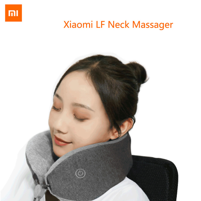 Xiaomi Mijia LF Neck Massager Pillow Mi Leravan Neck Relax Muscle Therapy Sleep Shoulder Back Massager Office Home Travel Car