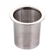 Нержавеющая сталь для заварки чая, серебряная сетка, кухонные аксессуары, безопасная плотность, многоразовый ситечко для чая, травяные чайные инструменты, аксессуары#137